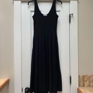 Leith Black Midi Dress